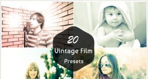 20 Vintage Film Lightroom Presets