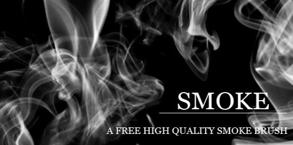A Free High Quality Smoke Photoshop Brush Set