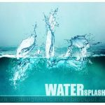 Water Brush Photoshop Add-ons to create Water splash