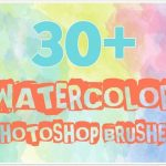 Awesome watercolor brushes photoshop Addons