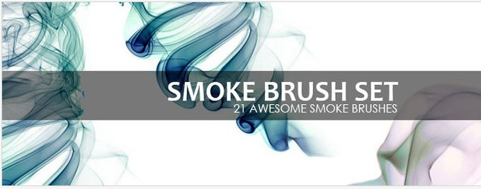 Smokey affect Brush Set