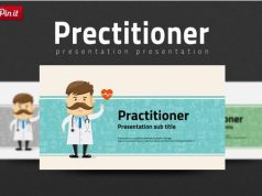 Practitioner medical PowerPoint template