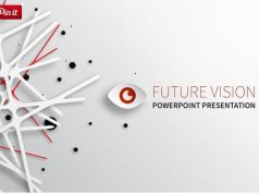 Future Vision PowerPoint Template for cool presentations