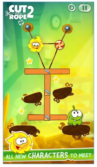 Android Cut the rope series games for kids