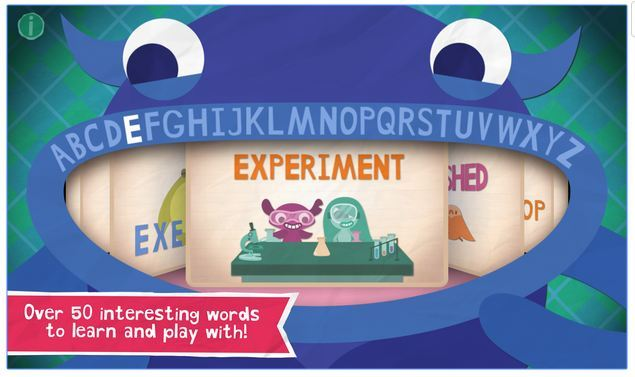 Android Endless Alphabet game for kids