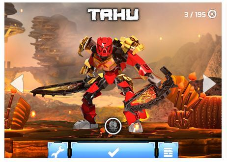 Android LEGO® BIONICLE® games for kids