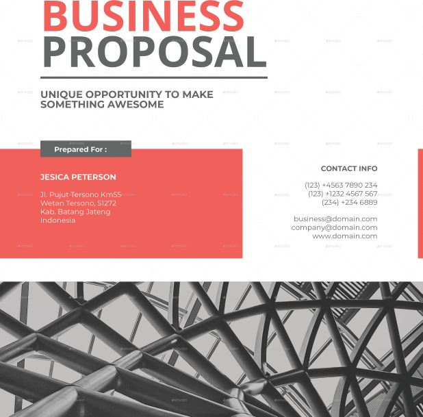 35+ Business proposal template word docs download