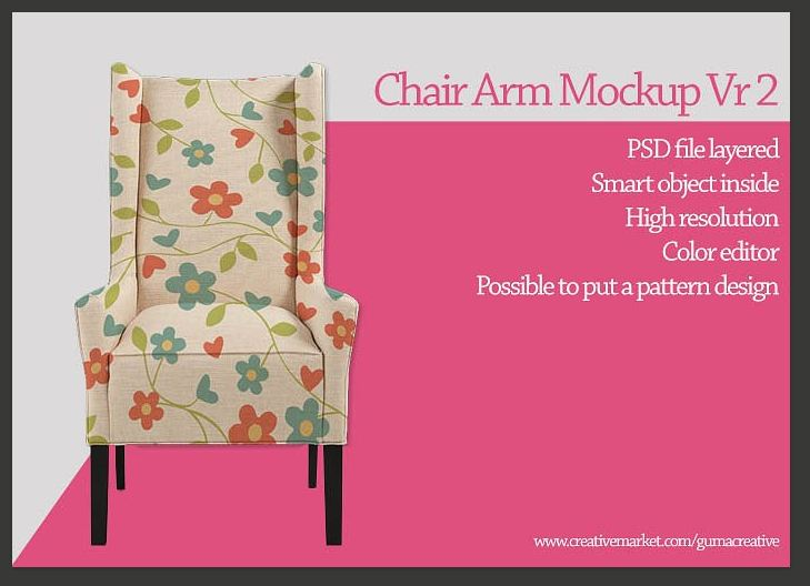 Chair arm mockup Vr2