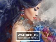Watercolor Effect Photoshop Action