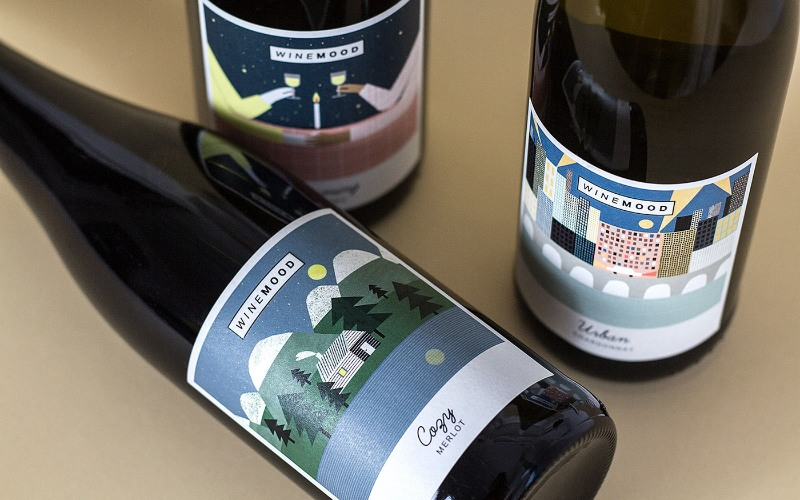 30 Wine Label Design Inspiration & Branding Examples