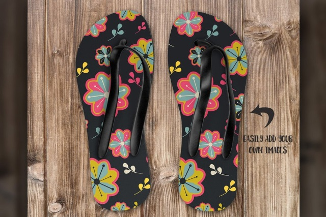 Flip Flop Mockup - Dye Sublimation