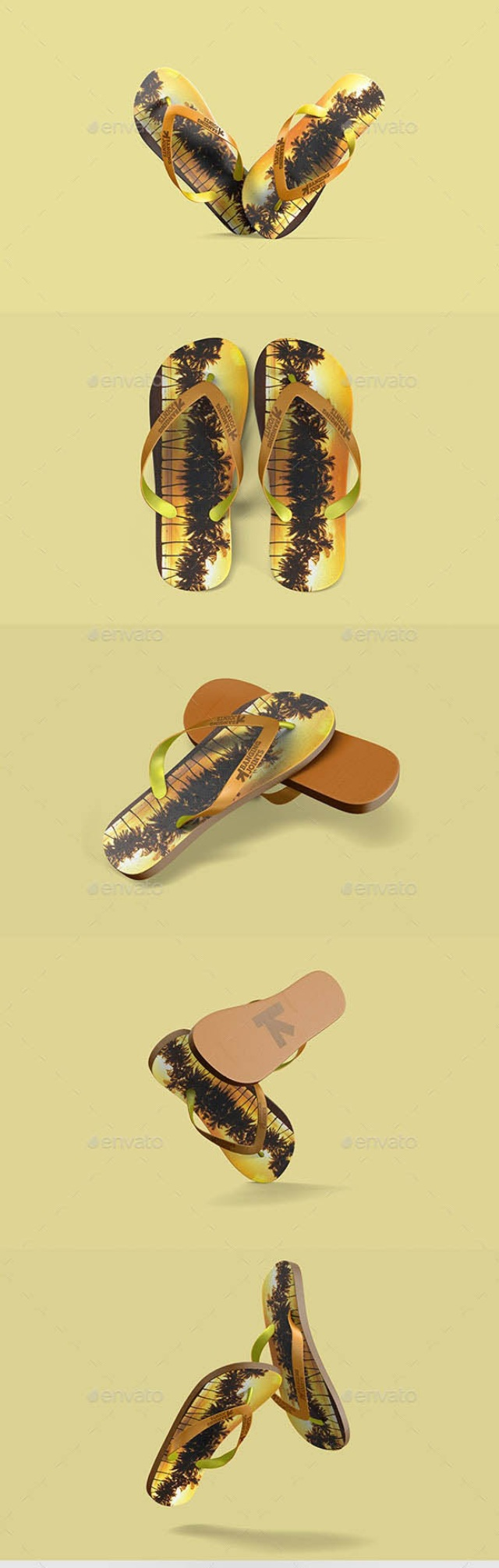 Flip Flops - Sandals MockUp by bangingjoints